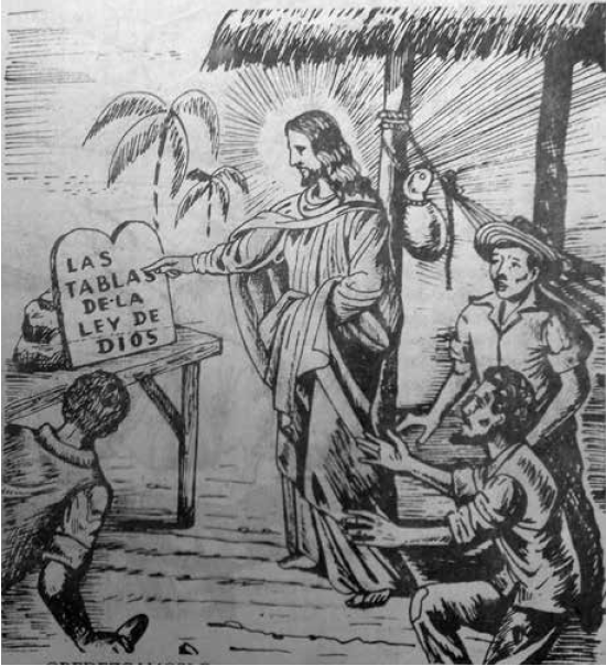 La ley de Dios, ¡Escucha cristiano! p. 3, reproducida con el permiso de la Fundación del Sinú.
